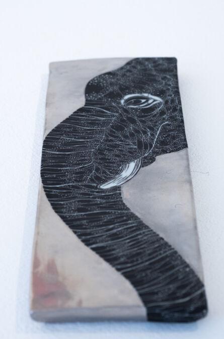 Masako Inoue, 'Plate_Elephant', 2019