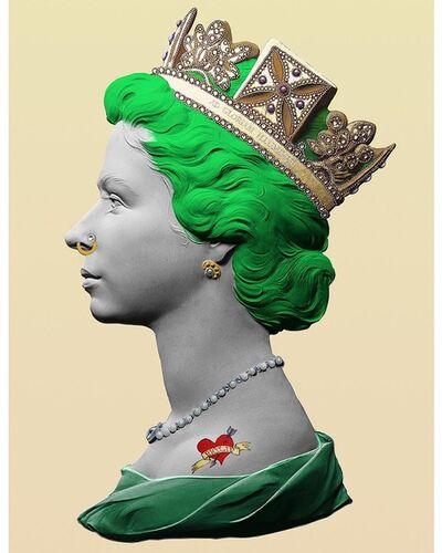 Illuminati Neon, 'Punk Queen (Green)', 2020