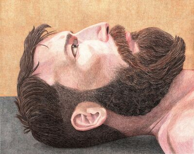 Elijah Burgher, 'Portrait of John Balance as Talisman Against Suicide', 2013
