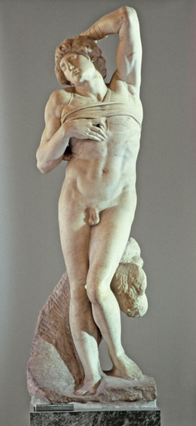 Michelangelo Buonarroti, 'L'Esclave mourant (Dying Slave)', Started in 1513