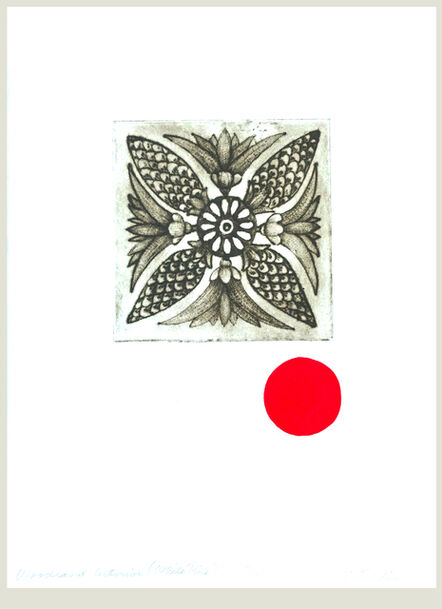 Liz Parkinson, 'Woodland Interiors Suite, White Pine, unframed drypoint and flocking 2019', 2019