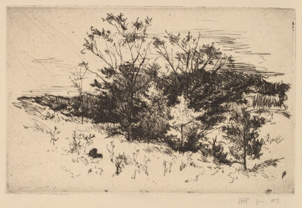 John Henry Twachtman, 'Autumn Avondale', ca. 1879-1882