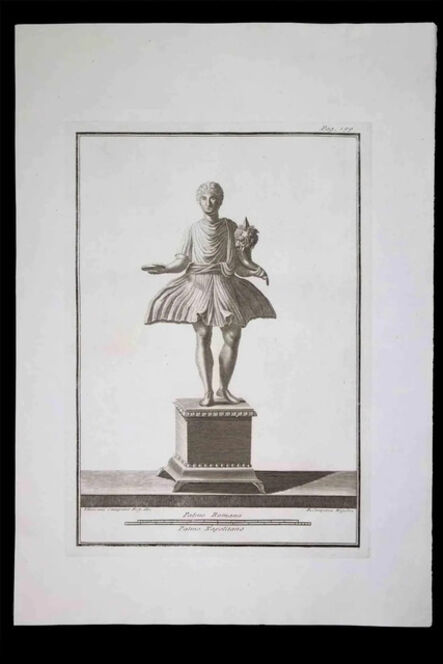 Pietro Campana, 'Offering, Ancient Roman Statue', 18th century