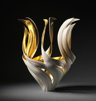 Jennifer McCurdy, 'Gilded Torch Vessel', 2021
