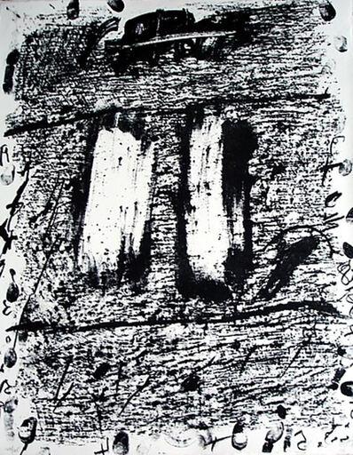 Antoni Tàpies, 'Círculo De Piedra 1', 1970