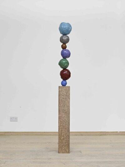 Annie Morris, 'Stack 7 - Cobalt Blue Pale', 2016