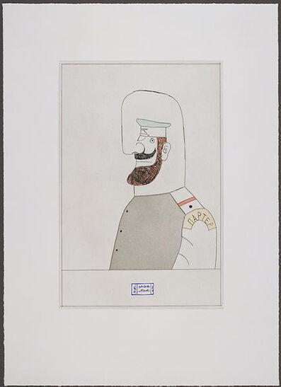 Saul Steinberg, 'Gogol II', 1984