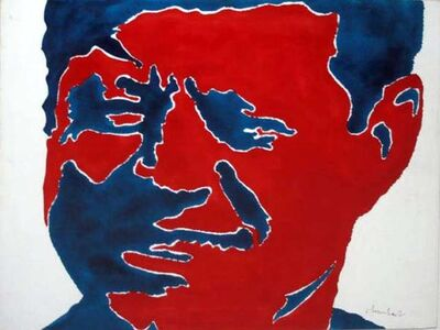 Sergio Lombardo, 'John Fitzgerald Kennedy', 1964