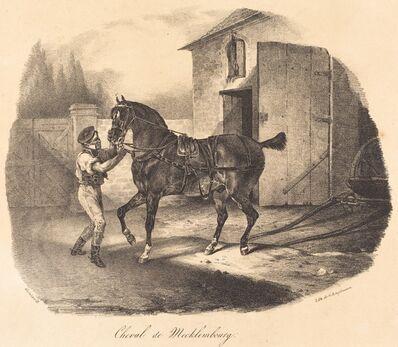 Théodore Géricault, 'Cheval de Mecklembourg', 1822