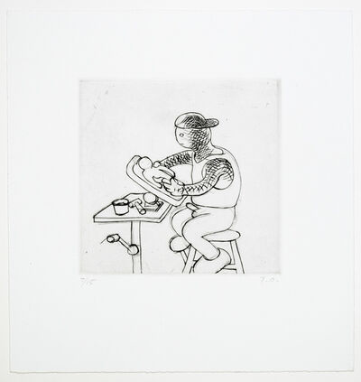 Tom Otterness, 'Artist at Work', 1994