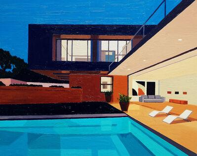 Andy Burgess, 'Night Pool I', 2016