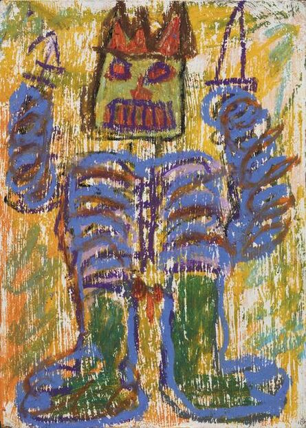 Jean-Michel Basquiat, 'Untitled', executed in 1982