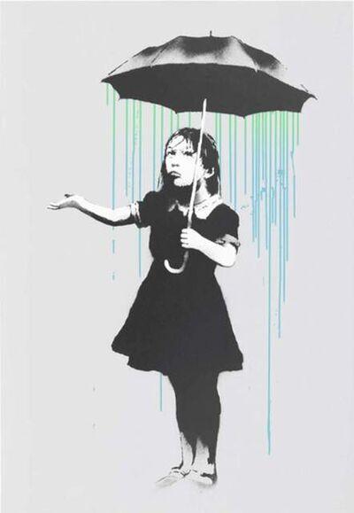 Banksy, 'NOLA (Green to Blue)', 2008