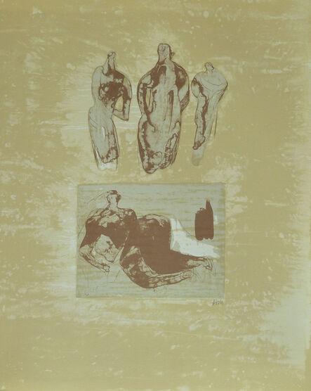 Henry Moore, ' Ideas from a Sketchbook, from: Poetry   La Poésie', 1973