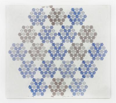 Thomas Bayrle, 'VW-Kristall', 1987