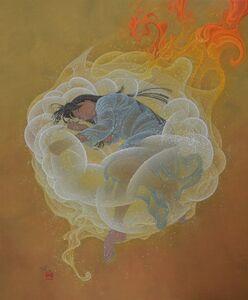 Yoji Kumagai, 'Shine on many places', 2017