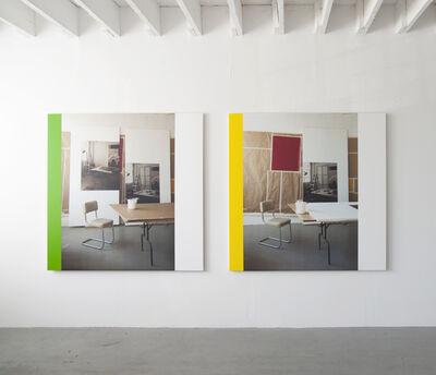 Ian Wallace, 'In The Studio (Work in Progress) I & II', 1996-2013