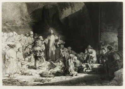 Rembrandt van Rijn, 'The Hundred Guilder Print', N/A