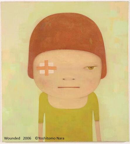Yoshitomo Nara, 'Wounded', 2014