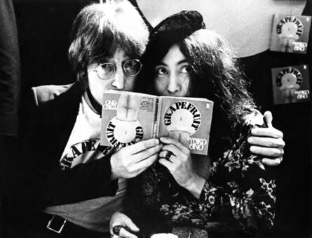 Gijsbert Hanekroot, 'John Lennon / Yoko Ono, London, UK', 1971