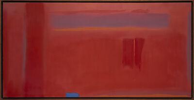 Esteban Vicente, 'Blue accent', 1979