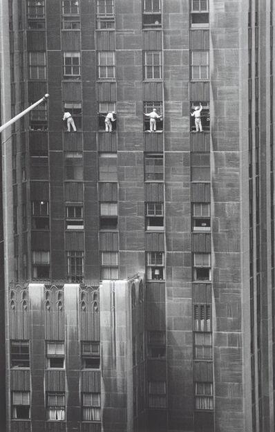 Inge Morath, 'Window washers', 1958