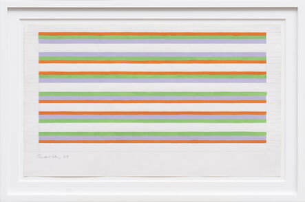 Bridget Riley, 'Untitled ', 1969