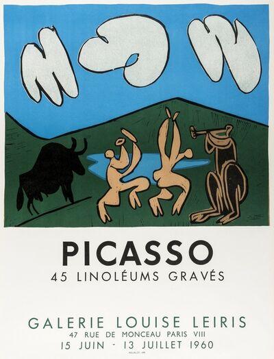 Pablo Picasso, '45 Linoléums Gravés (Czwiklitzer 181)', 1960