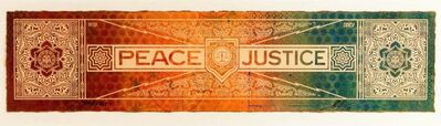 RISK, 'Peace and Justice | RISK X Shepard Fairey', 2013