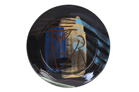 Bruce McLean, 'Abstract plate'