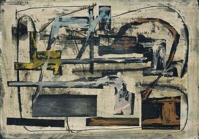 Raúl Pavlotzky, 'Composición', 1958