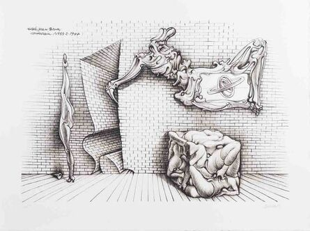 Hans Bellmer, 'Forms and Shapes', 1970