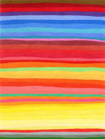 Todd Kelly, 'Stripe Drawing 35', 2013
