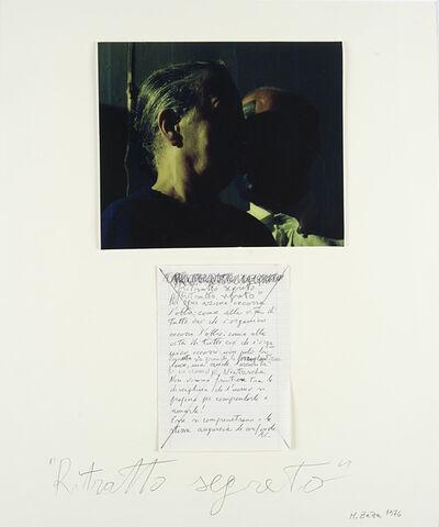 Michele Zaza, 'Ritratto segreto', 1976