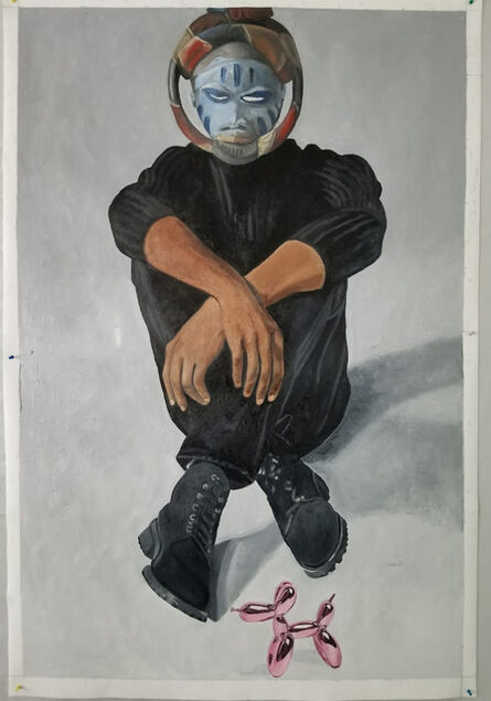 Wole Lagunju, 'African Art Encounters Jeff Koons', 2020
