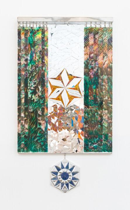 Monir Farmanfarmaian, 'Hexagon Rainbow', 2018