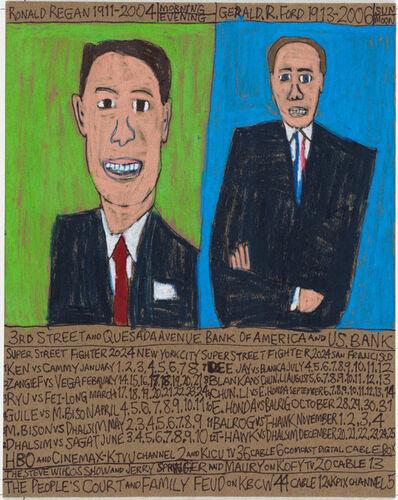 Daniel Green, 'RIP Ronald Regan 1911-2004 and Gerald R. Ford 1913-2006 President is Dead', 2019