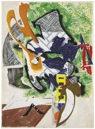 Frank Stella, 'Ahab's Leg (The Waves from The Moby Dick Prints 1989-93 series)', 1989