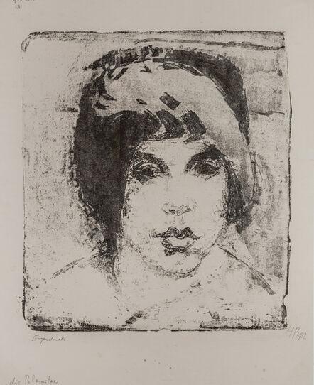 Max Pechstein, 'DIE PELZMÜTZE', 1912