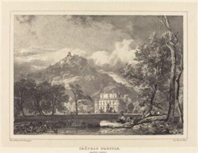 Richard Parkes Bonington after Francois Alexandre Pernot, 'Chateau d'Argyle', 1826