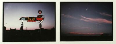 Eve Sonneman, 'The Land/The Moon, Rio Pecos, New Mexico', 1978