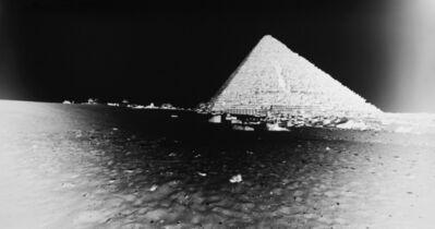 Vera Lutter, 'Pyramids, Giza: April 13, 2010', 2010