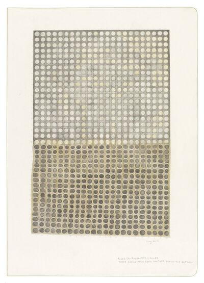 Jessica Deane Rosner, 'Ruled Unruled 874 Circles', 2017