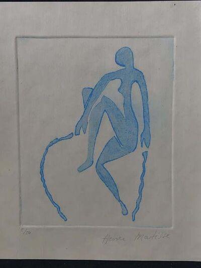 Henri Matisse, 'Blue Nude Skipping Rope', 1952