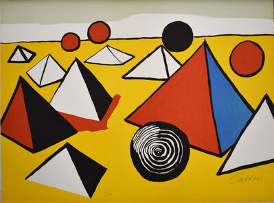 Alexander Calder, 'Composition VI, from The Elementary Memory', 1976