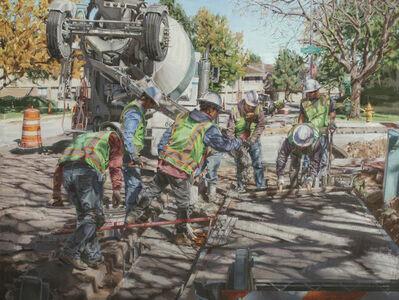 Dianne L. Massey Dunbar, 'Eight Men Working', 2014