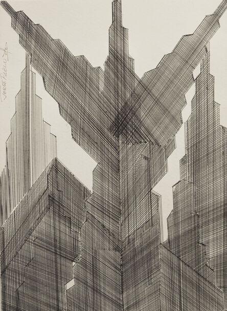 Jorge Pablo Hernandez, 'The Angel of Wall Street', 2017