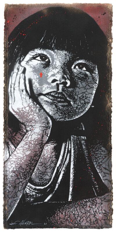 Jef Aérosol, 'Dreamy girl', 2021
