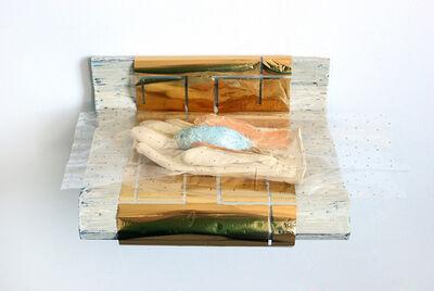 Liz Magor, 'Ladies Soft Leather (blue)', 2015