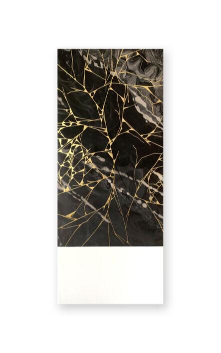 SupaKitch, 'Gold Crack Black', 2018